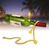 New Magic Illusion Floating  Red Wine Rack Stand Bottle Holder Rope Bracket BT