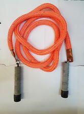 """Mute Sport Equipment - Bull Rope ~ Heavy Jump Rope 9.6"""" Grey handle"""