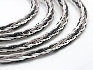 KnuKonceptz Krux Cable Interlaced Braid 3D Copper 8 Gauge Speaker Wire Bi-Wire