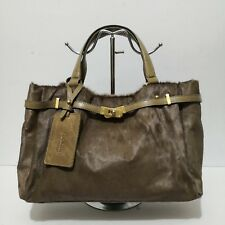 7eeac9a466 Rookism by Rookie Rad Brown Ponyhair and Leather Handbag  On Sale