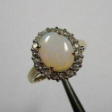 138 - Aparter Ring aus Gelbgold 585 mit Opal - 2408/5