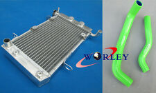 Aluminum radiator & hose SUZUKI LT-Z400 LTZ400 KFX400 DVX400 2003-2008 04 05 07