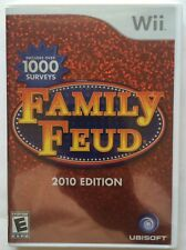 Family Feud 2010 Edition (Wii, 2009) - Brand New Sealed