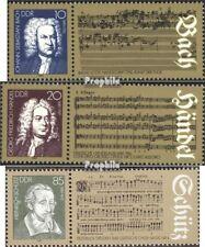 DDR 2931-2933 (compleet.Kwestie) Ersttagssonderstempel gestempeld 1985 Componist