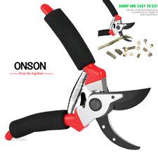 ONSON Garden Scissors Grafting Tools Cutter Tree Pruning Shears Bonsai Pruners
