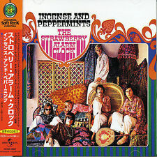 STRAWBERRY ALARM CLOCK Incense & Peppermints JAPAN JEWEL CASE AUDIOPHILE OBI CD