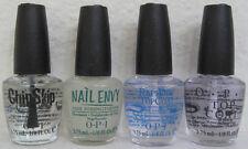 OPI 4 Mini Nail Polish Treatment Set ~ Chip Skip Nail Envy RapiDry Top Coat NEW