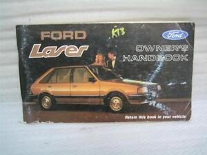 Ford KB Laser Owner's Instruction Manual (1983-1985)
