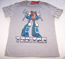 Transformers Traitor Mens Grey Printed T Shirt Size XS New
