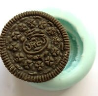 OREO Cookie BISCUIT MOULD - Soap/Candles/Melts,fun, Silicone New Hand Made Mold