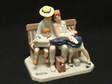 Vintage 1980 Norman Rockwell * Home From Vacation * Figurine Danbury Mint