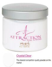 NSI Attraction Nail Powder Crystal Clear - 40 g (1.42 Oz.) - N7462