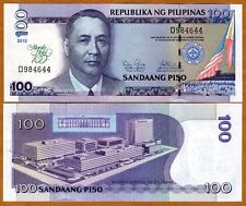 Philippines, 100 Piso, 2012 (2013), P-213, UNC > Commemorative 100 years to MH