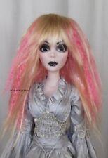 Wig for Evangeline Ghastly .. Size 6/7 .. J-Rock - 78PK - Blonde with Pink!