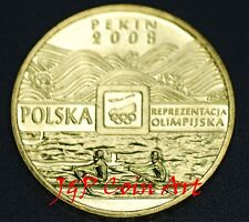 2008 Coin of Poland Polish 2zl  XXIXth Olympics in  Beijing