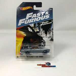 '70 Plymouth Road Runner Fast & Furious * Hot Wheels * WD9