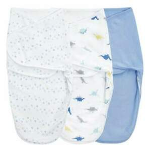 Essentials wrap swaddle 3pack - Dino Rama 0-3 months