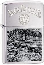 Zippo Feuerzeug Jack Daniels Series 7 of 7 Limited Edition xxxx/4777 SONDERPREIS