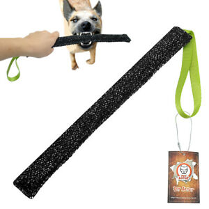 Jute K9 Dog Bite Tug Chew Toys Builder Training for Police Dog Bite Suit Fabric