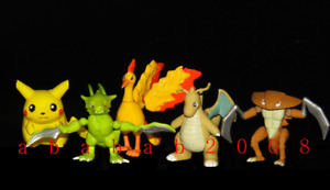 Bandai Pokemon figure Movie part.2 gashapon (full set of five figures)