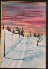 Original watercolor painting 5