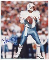 Warren Moon Signed 8x10 Photo Autographed Signature Football Hall of Fame HOF