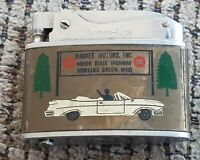 VTG Brother-lite Cigarette lighter MAURER MOTERS BOWLING GREEN OHIO ADVERTISING