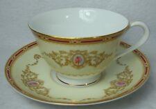 "NORITAKE china 1802 Nippon Toki Kaisha Cup & Saucer - Set of Two (2) - 2-3/8"""