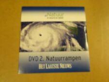 DVD HET LAATSTE NIEUWS / NATUUR IN WOORD EN BEELD - DVD 2 - NATUURRAMPEN