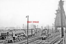 PHOTO  YORK NORTH LOCOMOTIVE YARD 1961 VIEW NW AWAY FROM THE ROUND-HOUSES OF THI