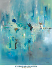 A Story to Tell Victoria Jackson Abstract Art Print 24x30 Image Conscious