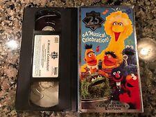 Sesame Street A Musical Celebration VHS!