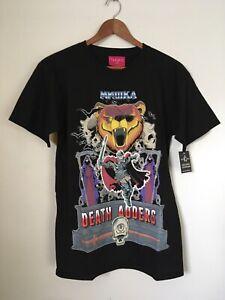 NWT Mishka Death Adders T-shirt Men's Size S Small MNWKA Bear