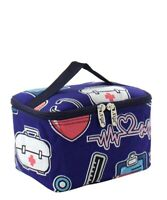 Cosmetic/Make Up/Toiletry Bag Travel Canvas NEW FREE SHIP NGIL Nurse NUS277_NY