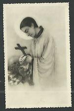 Postal antigua de San Luis Gonzaga andachtsbild santino holy card santini