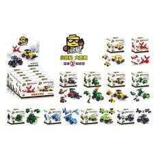 Transformation Assembly Car Model Kids Children Developmental Education Toy Gift