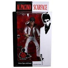 "Scarface Tony Montana Al Pacino 10"" Figur White Suit Weisser Anzug Mezco"