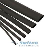 Black Adhesive Lined 3:1 Waterproof Heatshrink Tube Tubing Sleeving Heat Shrink