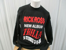 VINTAGE ELEGANT RICK ROSS TEFLON DON TRILLA PROMO 2008 3XL LONG SLEEVE SHIRT