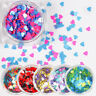 Glitter Nail Art Sequins Powder Dust UV Gel Acrylic 3D Decoration Flakes Tips
