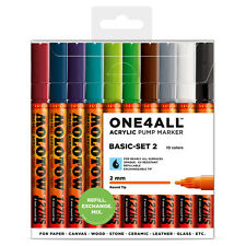 Molotow ONE4ALL 127HS Basic-Set 2 [10 Markers]
