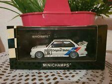 BMW M3 E30 DTM 1992 # 16 Heger Linder M Team Orginal BMW Teile 1:43