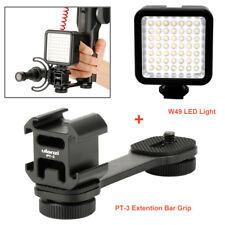 PT-3 Cold Shoe Bracket + W49 LED light for DJI Osmo Gimbal Microphone Mobile 2