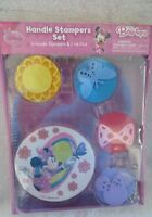 Disney Minnie Mouse Club House Handle Stampers Set New