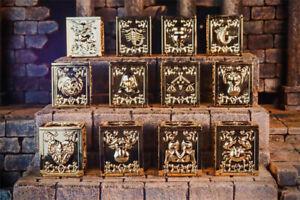 RH Saint Seiya Myth Cloth EX 12 Gold Saint Pandora Box Set