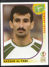 Panini Football - World Cup 2002 - Sticker No 346 - Saudi Arabia - Al-Yami