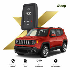 Pedal Chip X Pedal Box Throttle Tuning Jeep Renegade 1.4L T 140 HP 2014-2019