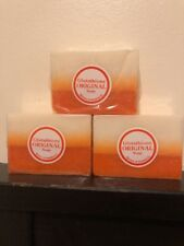 3 x Original Glutathione + Kojic Acid 2in1 Soap Bars Skin Whitening Gluta Papaya