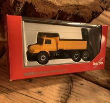 Herpa 1/87  304665 LKW MB Zetros orange ,Neu,OVP