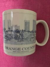 Starbucks Mug Orange County Architect Collector Series Cup 2008 18 oz